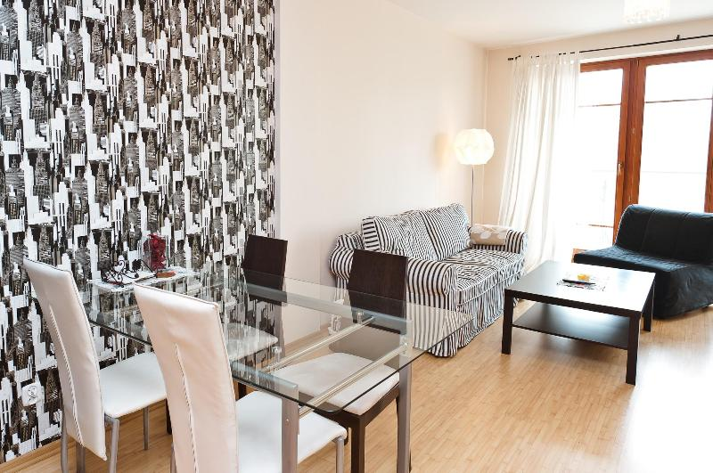 Living room - Luxury Apartment in Warsaw close to the Old Town - Warsaw - rentals