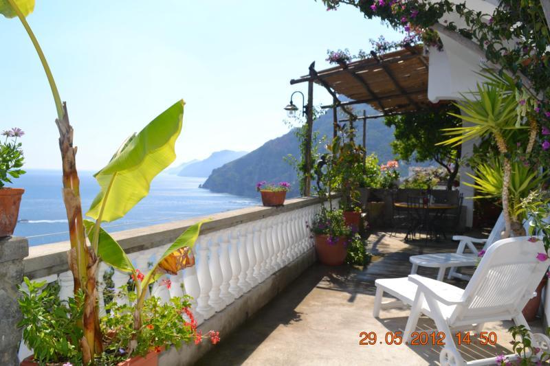 Terrace - Villa Gio - POSITANO HOUSE - HolidayHouses - Positano - rentals