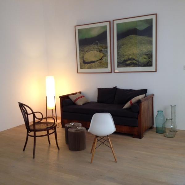 Living area - Loft style apartment near the Parliament - Budapest - rentals