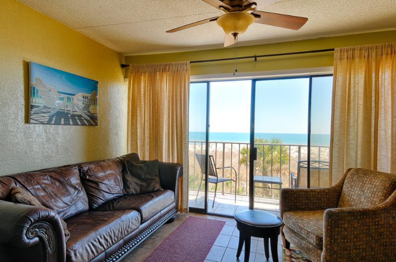 Island Retreat - Cabana 124 - Oceanfront 2 BR, 2 BA Condo !!!! - Image 1 - Carolina Beach - rentals