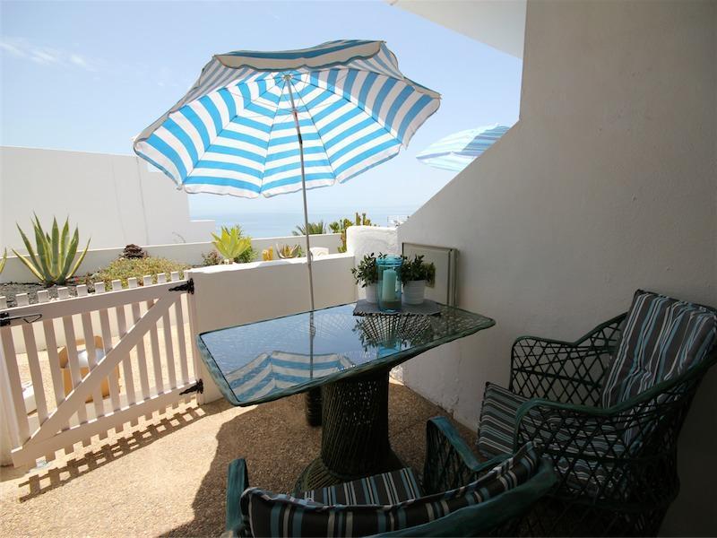 Terrace with sea view - Holiday Studio San Francisco - Puerto Del Carmen - rentals