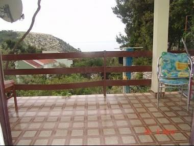 SA1(4): terrace - 5676 SA1(4) - Krvavica - Krvavica - rentals