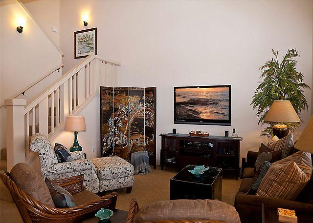Luxorious Living Area - SPRING SPECIAL 7TH NIGHT FREE-Stunning 3BR Townhome! Professionally Decorated - Waikoloa - rentals