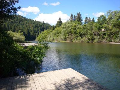 Eric's Landing, Russian River Dock, Sonoma County, CA - Eric's Landing - Guerneville - rentals