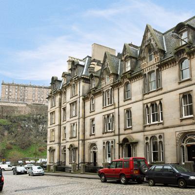Cornwall Street Apartment - Image 1 - Edinburgh - rentals