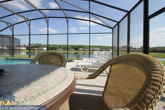 Spacious 5 bed/3.5 Bath Home with Spa and Spectacular Lake View - 59054 - Kissimmee - rentals