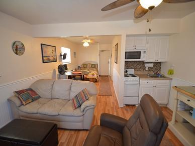 looking from living room - #19 - Clearwater Beach Waterfront Condo - Clearwater - rentals