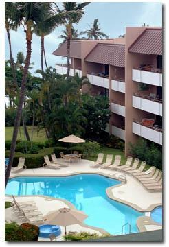 Our pool - 2 bdrm 2 ba condo across from White Sands Beach - Kailua-Kona - rentals