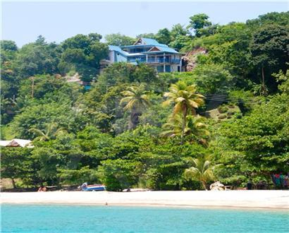 Located above stunning Princess Margaret beach - ANightAshore at Princess Margaret Beach, Bequia - Port Elizabeth - rentals