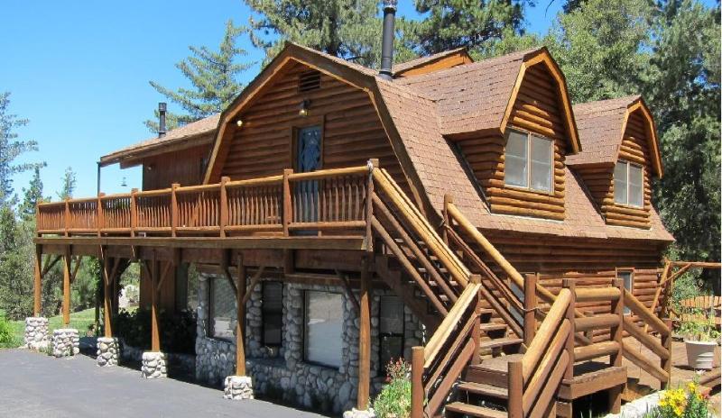 luxurious log home - Luxurious and Spacious Quail's Run on 4.5 Acres!!! - Idyllwild - rentals