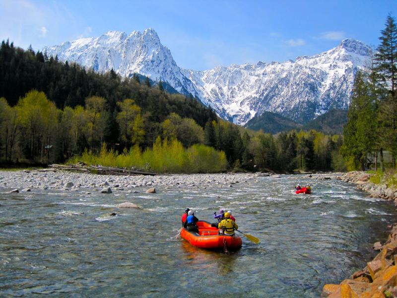 Incredible Views of Skykomish River, Mt. Index and Mt. Persis from your covered front porch! - Riverfront, HUGE Views,Hot Tub, Sleeps 6 - Index - rentals