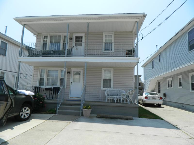Front View 2nd Floor - Jersey Shore Gem - North Wildwood - rentals