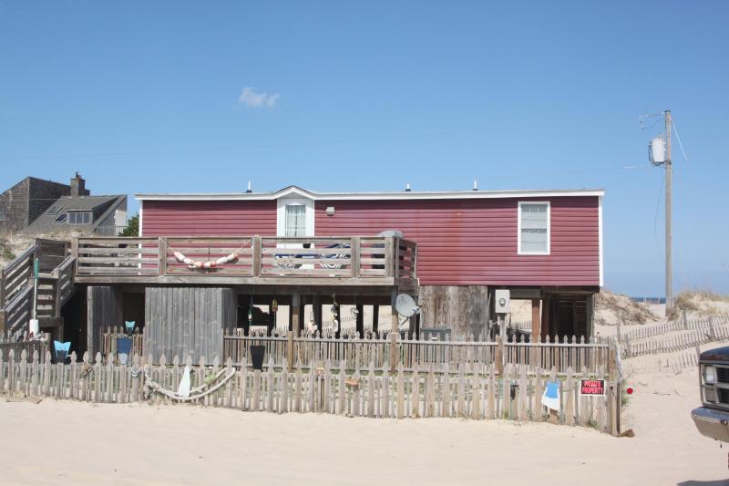 Mermaid's Wake Exterior - 3 Bedroom Oceanfront Cottage in Four Wheel Drive - Corolla - rentals