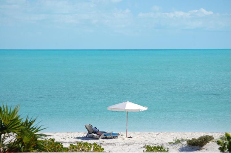View to the beach - Villa Wyakha on the Beach-Serene, Kite Boarding - Providenciales - rentals