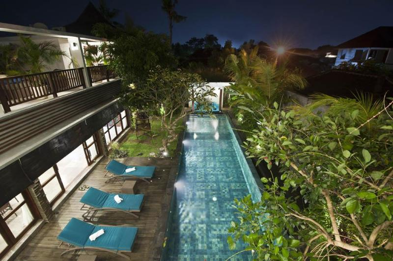 Amazing View From Balcony - Amira Amazing Villa Steps From Beach & Restaurants - Legian - rentals