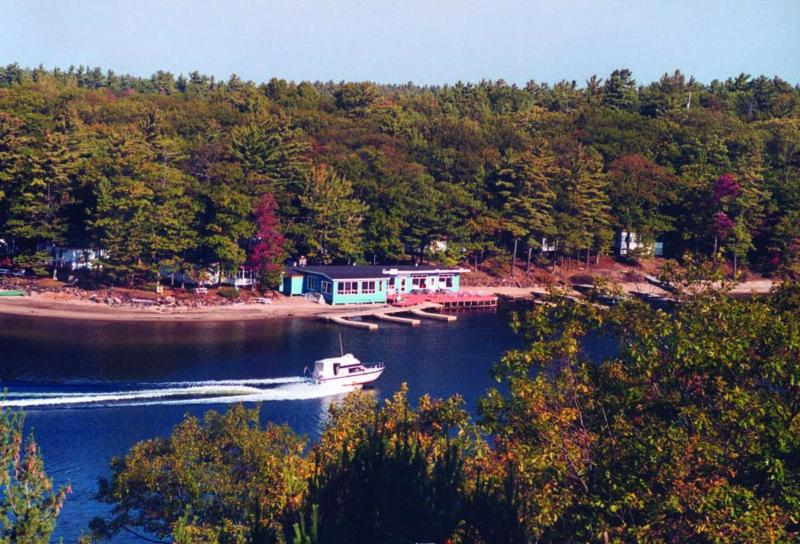 Cottage from water - Craganmor Point Cottage Resort & Fishing, Parry So - Parry Sound - rentals