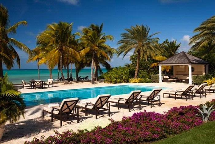 Luxury 6 bedroom Jumby Bay Resort villa. View to the ocean and three acres of gardens! - Image 1 - Antigua and Barbuda - rentals