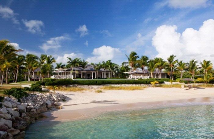 Luxury 4 bedroom Jumby Bay Resort villa. Beachfront with a total sense of privacy! - Image 1 - Antigua and Barbuda - rentals