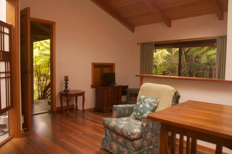 Hiker's Rainforest Retreat, Near The Park Entrance - Image 1 - Volcano - rentals