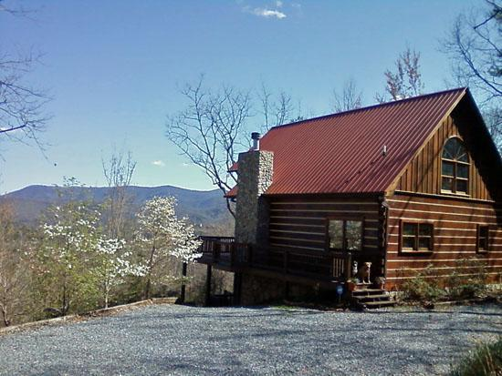 Great mountain views with privacy! - Lizards Look Out Mountain Cabin**HOT TUB**Pets OK - Blue Ridge - rentals
