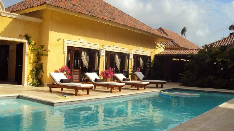 More pool... private retreat - Villa BOUGAINVILLE at Cap Cana - Punta Cana - rentals