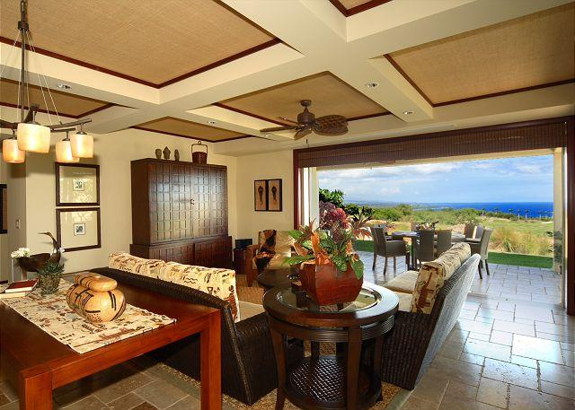 Gorgeous Ocean View with Double Master and Private Lanai! - Image 1 - Kamuela - rentals