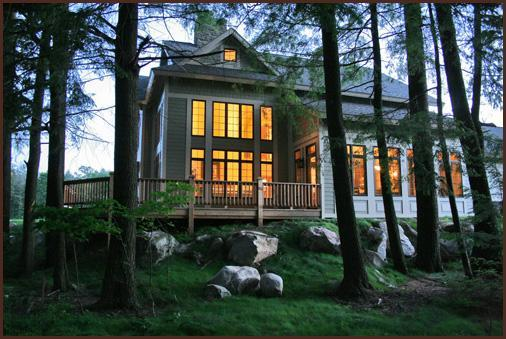 Fabulous views - The Pinecone Cottage - Three Lakes - rentals