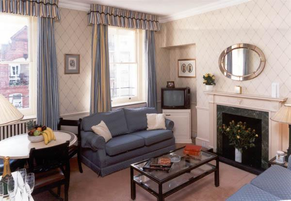 Living Room - Mayfair Curzon Street 2 Bedroom Apartment - London - rentals