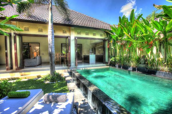 Swimming pool is long and cooling - GREAT VALUE 2 Bedroom Villa in SEMINYAK - Seminyak - rentals