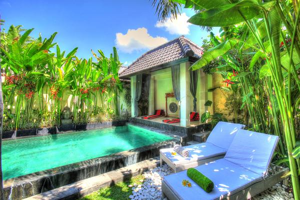 Swimming pool. - COZY 2 BEDROOM VILLA IN SEMINYAK - Seminyak - rentals