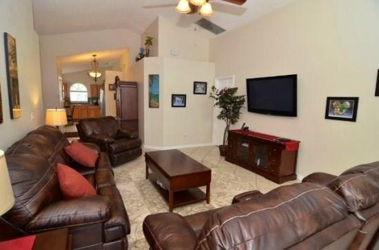 open plan, beautifully decorated - Remarkable Vacation Home in Indian Creek, Completely Brand New - Kissimmee - rentals