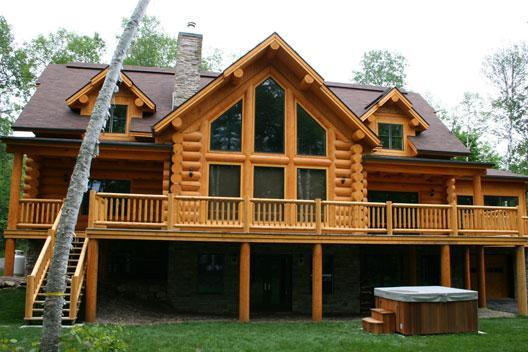 3-8 bedroom waterfront chalets in Mont Tremblant - Image 1 - Mont Tremblant - rentals