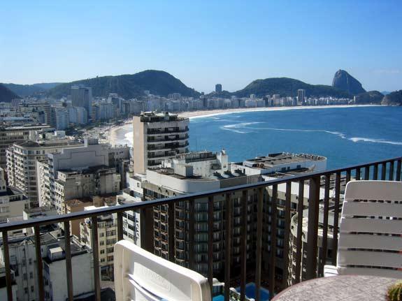 (#132) 2 bedroom in Arpoador with an unique view - Image 1 - Rio de Janeiro - rentals
