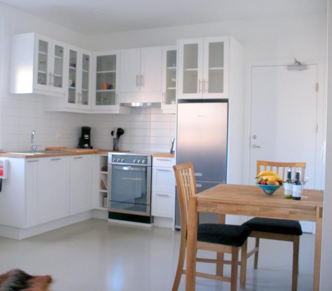 Kitchen/Dining - Gamla Posthusid - Holiday Apartment 2 - Saudarkrokur - rentals