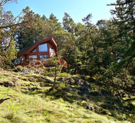 Daffodil Cove Cottage - Daffodil Cove Cottage on the ocean - Salt Spring Island - rentals