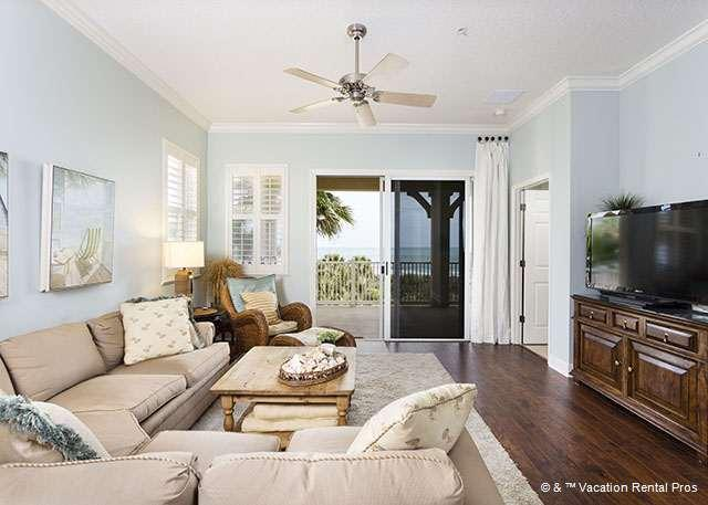 Make our ocean view condo your vacation home! - 731 Cinnamon Beach, 3rd Floor, Corner Unit, New Furniture, HDTV - Palm Coast - rentals