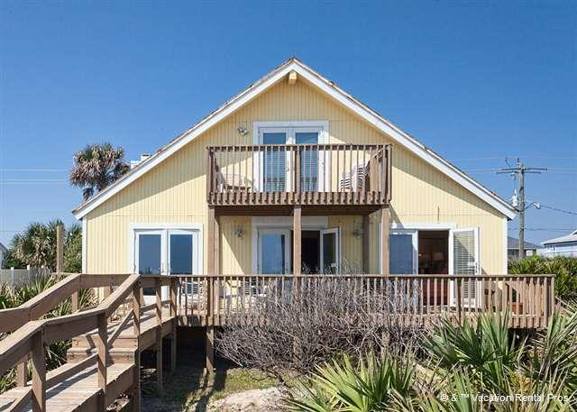Napping Turtle is ocean front with 2 balconies - Napping Turtle, 3 Bedrooms, Ocean Front, South Ponte Vedra Beach - Ponte Vedra Beach - rentals