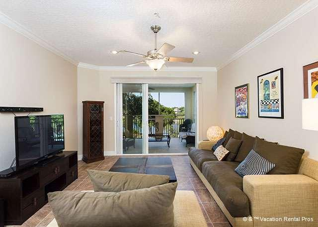 Our condo is sheer comfort and beauty! - Tidelands 2135, 3rd Floor, Elevator, HDTV, Sleeps 7, 2 pools - Palm Coast - rentals