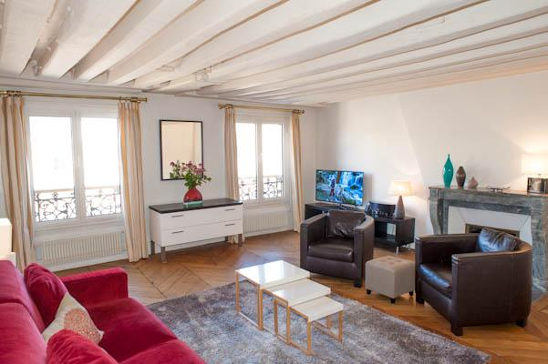 Rue Sainte-Anne. Splendid & calm 1 Bed, Le Louvre and the Opera - Image 1 - Paris - rentals