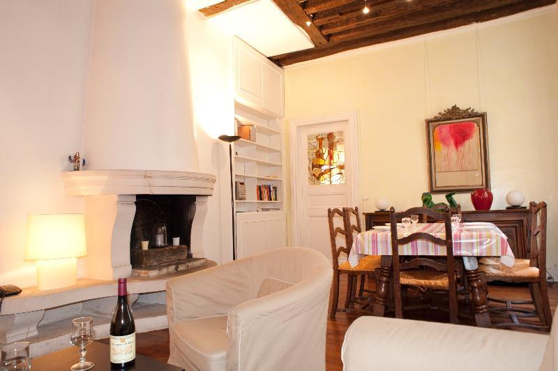 Rue de Turenne. Amazing 2 bedroom in the Marais by the Place des Vosges. Beautiful and grandiose. - Image 1 - Paris - rentals
