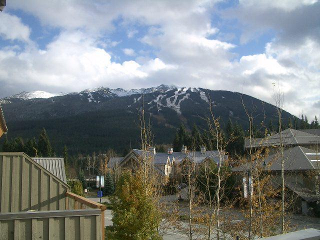 Mountain views from deck and hot tub - GR31, a pet-friendly 2 bdrm with private hot tub - Whistler - rentals