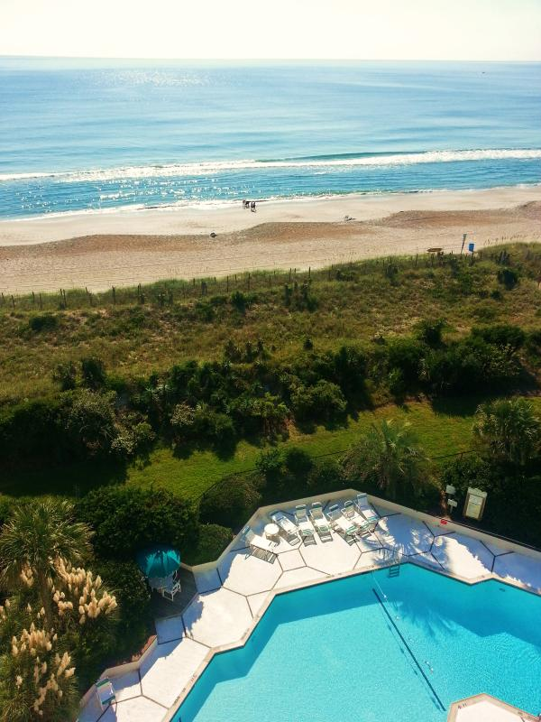 View from 8th floor, top floor of this complex - A PENTHOUSE VIEW is WAITING FOR YOU! 8th/Top Floor - Wrightsville Beach - rentals