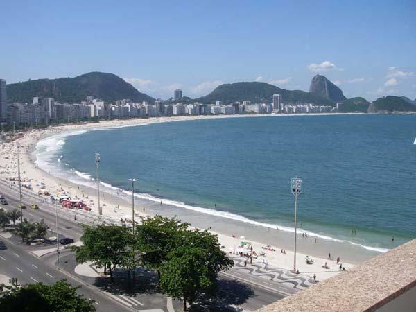 (#177) Excellent 2 bd w/ balcony and ocean view - Image 1 - Rio de Janeiro - rentals