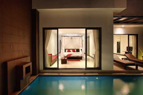 Romantic, jump from the bedroom into the pool! - ROMANTIC Villa Candareen - Bang Tao - Flipkey - Phuket - rentals