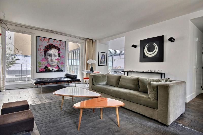 Marais Rooftop Terrace - Image 1 - Paris - rentals