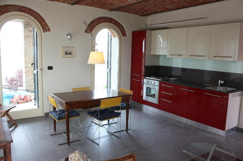 Kitchen ground floor - milleluci  - thousand of lights - Monforte d'Alba - rentals
