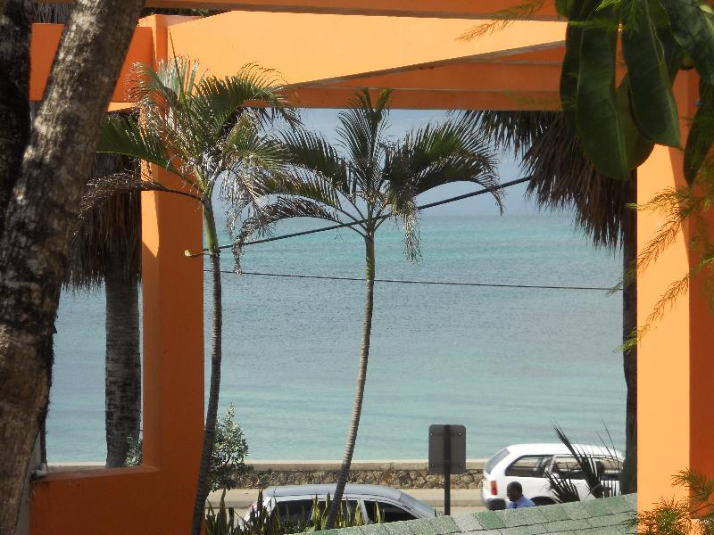 Ocean View from downstairs - NEGRIL CONDO  (SUNSHINE VILLAGE COMPLEX) - Negril - rentals