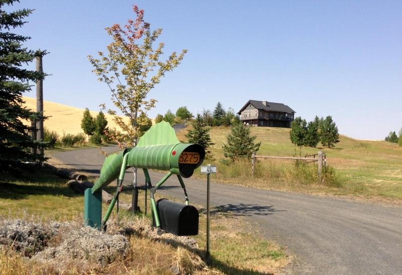 The creature guarding the entrance - 2 bedroom apartment nestled in the Palouse Hills - Moscow - rentals