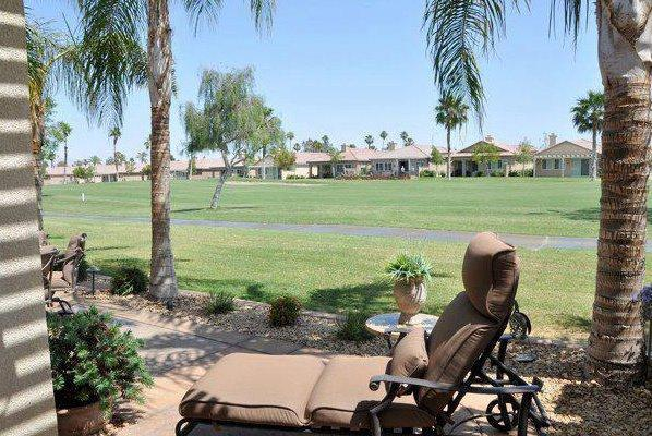 View from the back patio - Luxury Golf Home @ Indian Palms Country Club - Indio - rentals
