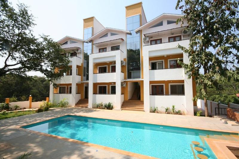 Pool facing apartments  - Luxury 2 bedroom flat for rent. Anjuna Goa - Anjuna - rentals